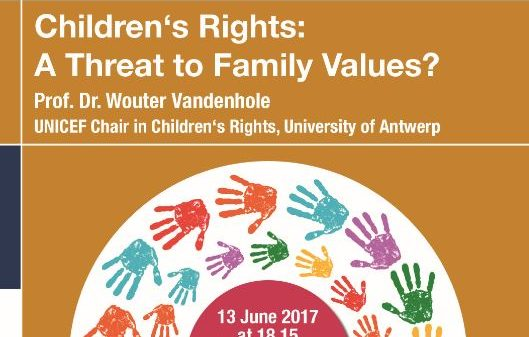 "Towards entry ""Children's Rights: A Threat to Family Values?"""